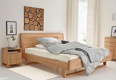 GMK Home & Living Bett »Janno« ,aus massiver Eiche, 2 Breiten