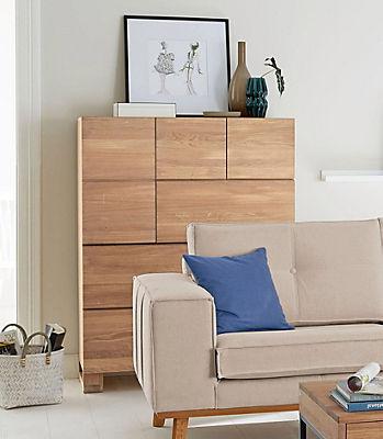 GMK Home & Living  Highboard »Evenio«, Breite 100 cm.