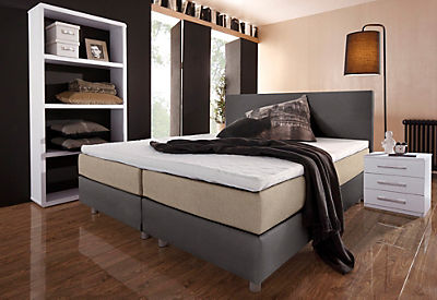 boxspringbett breckle bei. Black Bedroom Furniture Sets. Home Design Ideas